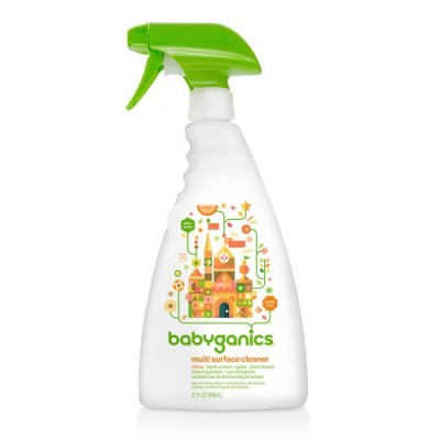 Baby Ganics Multi Surface Cleaner - Citrus 946ml