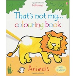 Animals (That's Not My...Colouring Book)