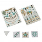 ALEX TOYS SPA Fab Foil Tattoos - Teal