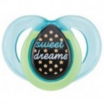 Tommee Tippee Closer to Nature Night Time Soother 6-18m (Single Pack) (color may vary)