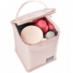 Beaba Isothermal Meal Pouch - Soft Pink / Gold