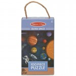 Melissa & Doug Natural Play 100 Piece Puzzle - Outer Space