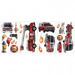 RoomMates Fire Brigade Wall Decals - RMK1125SCS