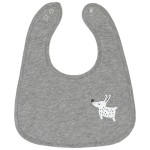 Cotton Pigs Organic Reversible Bib - Colourful Dogs