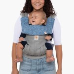 Ergobaby 360/Adapt/Omni Carrier Drool Pad & Bib - California Wildflower