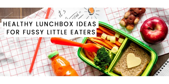 Healthy lunchbox ideas for fussy little eaters