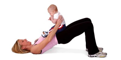 Baby Play Time Can Help Your Waistline