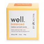 Well by Caliva  Well Balanced 60 MG Mellow Out Bath Bomb