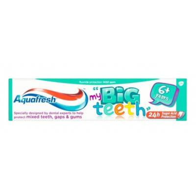Aquafresh Big Teeth Toothpaste 6+ years 50ml