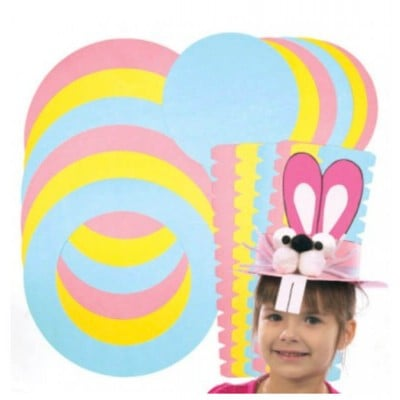 Baker Ross Easter Bonnet Kits (Pack of 3)