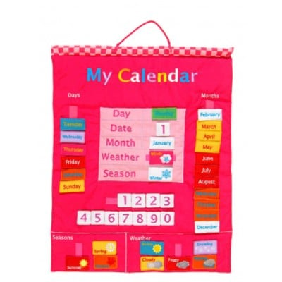 Fiesta Crafts My Calendar Pink