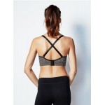 Bravado Body Silk Seamless Yoga Nursing Bra - Charcoal Heather