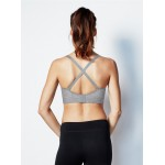 Bravado Body Silk Seamless Yoga Nursing Bra - Dove Heather