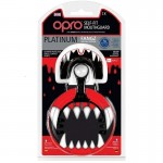OPRO Platinum Self-Fit Mouthguard (7 years to Adult) - Fangz, Special Edition