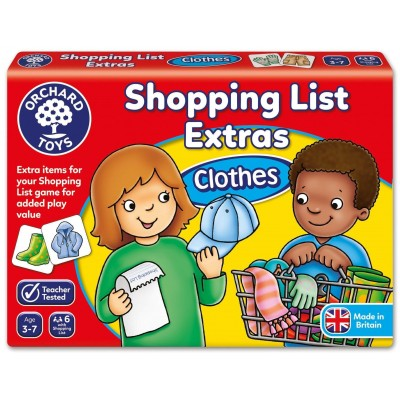Orchard Toys Shopping List Extras - Clothes