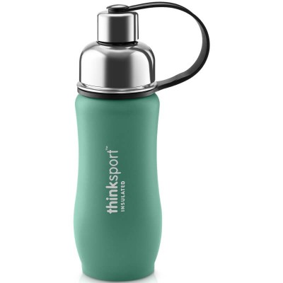 Think 12oz(350ml) insulated Sports Bottle - Coated Green