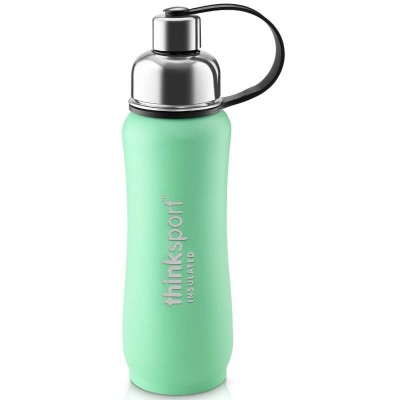 Think 17oz (500ml) insulated Sports Bottle - Coated Mint Green