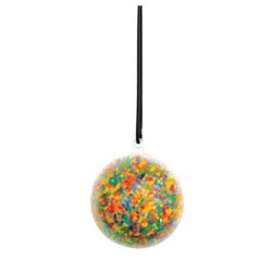 Colorations Clear Ball Ornaments - Set of 1..