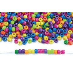 Colorations Neon Pony Beads - 1 lb.