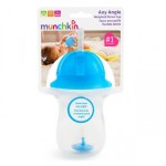Munchkin Any Angle Click Lock Weighted Straw Trainer Cup 10oz