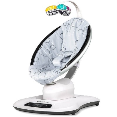 4moms mamaRoo4 Infant Seat - Silver Plush