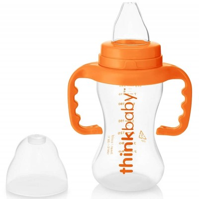 Think 9oz Sippy Cups - Orange