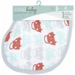 Aden - Ideal Baby Burpy Bib - Road Trip
