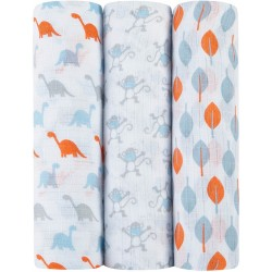 Aden - Ideal Baby Swaddle 3 Pack - Cheeky M..