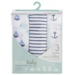 Aden - Ideal Baby Swaddle 3 Pack - Set Sail