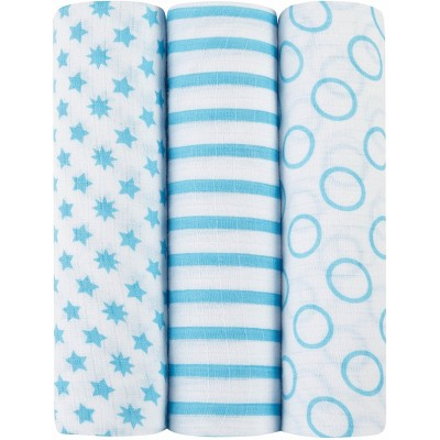 Aden - Ideal Baby Swaddle 3 Pack - Sunny Side