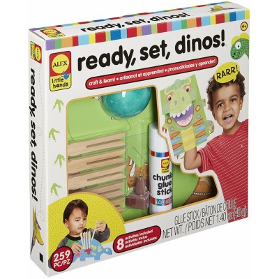 ALEX ALEX Toys Little Hands Ready, Set, Dinos