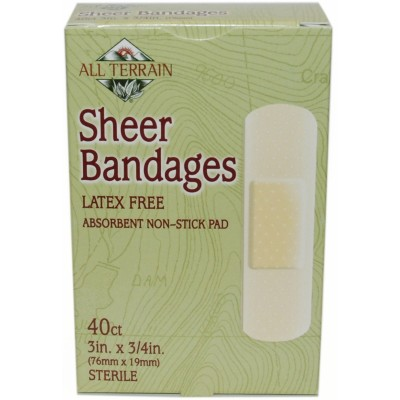 All Terrain Sheer Bandages 3/4