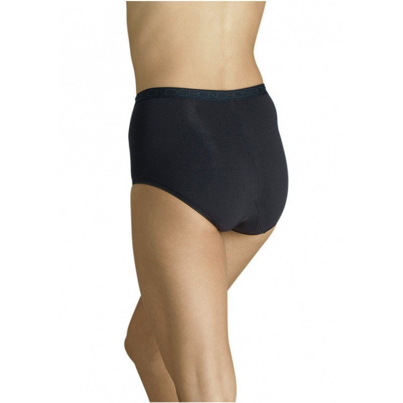Bonds Shapers Full Brief Size Aus12 Black