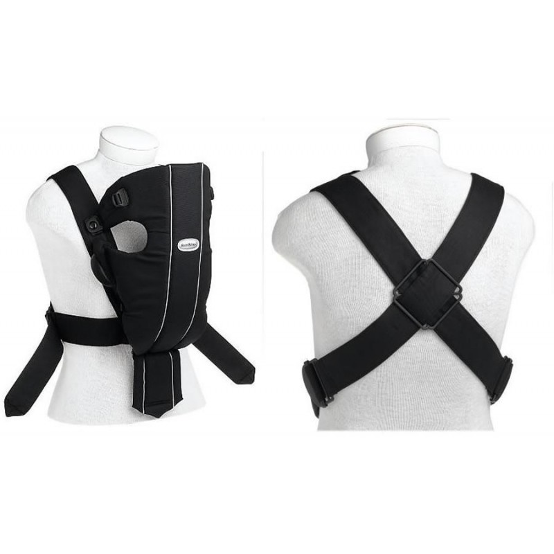 2e0b9cca8e1 BabyBjorn Baby Carrier Original, Jersey - Black/Granite