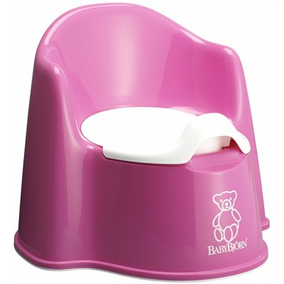 BabyBjorn Potty Chair - Pink