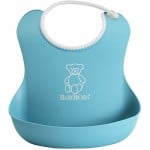 BabyBjorn Soft Bib 2-Pack - Orange/Turquoise