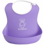 BabyBjorn Soft Bib 2-Pack - Pink/Purple