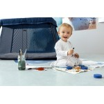 BabyBjorn Travel Crib Light - Dark Blue, Mesh
