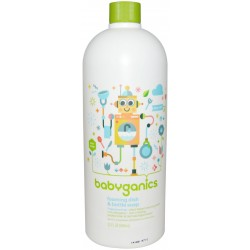 Baby Ganics Dish & Bottle Soap Citrus -..