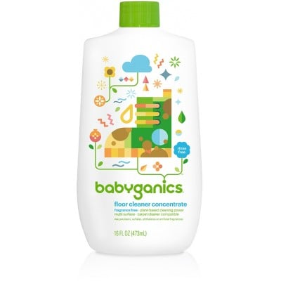 Baby Ganics Floor Concentrate - Fragrance Free 473ml