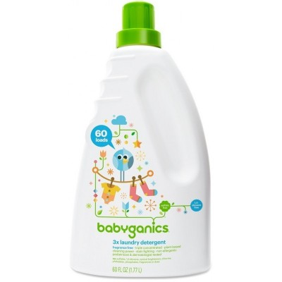 Baby Ganics Laundry Detergent - Fragrance Free 1.77L
