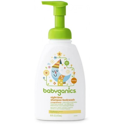 Baby Ganics Good Night Shampoo & BodyWash 473ml - Orange Blossom
