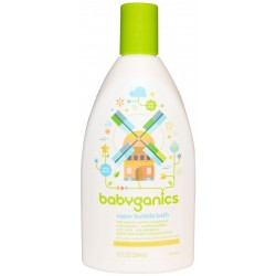 Baby Ganics Soothing Vapor Bubble Bath 354m..