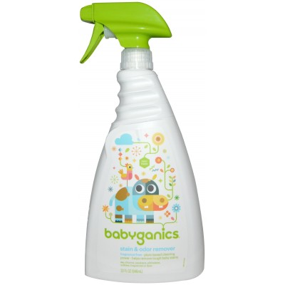Baby Ganics Stain & Odor Remover - Fragrance Free 946ml