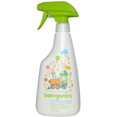 Baby Ganics Toy & Highchair Cleaner - Fragrance Free 502ml