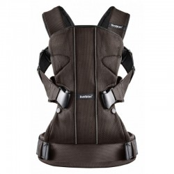Babybjorn Baby Carrier One Air Mesh - Black/Brown