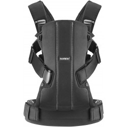 Babybjorn Baby Carrier We Cotton - Black
