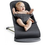 BabyBjorn Bouncer Bliss, Cotton - Anthracite