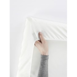 Babybjorn Fitted Sheet for Travel Cot Light..