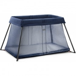 Babybjorn Travel Cot Light  - Great Blue Wh..